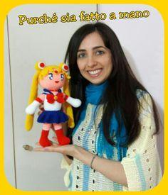 Sailor Moon AMIGURUMI (with English Subtitles) - Uncinetto, Crochet, Gan...