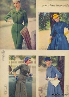 Крой 1954-1957 или мода 50-х (часть 2) / платья 60 х годов выкройка