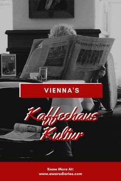 The imperial roots of the Austrian capital Vienna have many a stories to tell over a cup of coffee. And that very cup of coffee started Vienna's Kaffeehaus Kultur with Austrian intellectuals, which is still loved and embraced by the world in it's modern form.  Here's everything you need to know about coffee shops of Vienna and it's kaffeehaus kultur.  #vienna #kaffeehauskultur