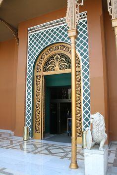 Gezira Palace (now a hotel. Cairo, Egypt)
