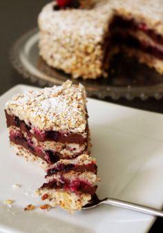 Succès au chocolat et aux fruits rouges Blog Rêve de Gourmandises