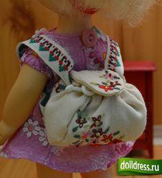 Рюкзачок для куклы. МК.. Обсуждение на LiveInternet - Российский Сервис Онлайн-Дневников