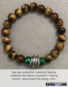 Yoga Chakra Reiki Beaded Stretch Bracelets & Jewelry ॐ Mens & Womens Natural Gemstone Mala Wrist Stacks We source Grade A+++ Natural Gemstones and findings from around the world to design and create our jewelry. Each piece is intended to help Motivate Chakra Bracelet, Skull Bracelet, Bracelet Cuir, Chakra Jewelry, Yoga Bracelet, Gemstone Bracelets, Bracelets For Men, Jewelry Bracelets, Jewelery