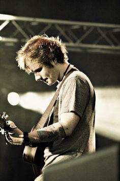 ed sheeran. I've listened to this darling all day long.