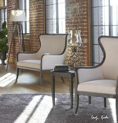 Sandy Loveseat by Uttermost