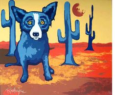 George Rodrigue Where Are You Sequoia? painting for sale online outlet, painting
