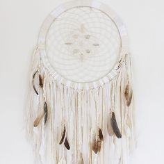 For those who were wondering where I got my beautiful dream catcher, it's from @spokewoven! A lot of time and love went into creating it. I can't thank you enough, Genga.