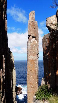 Tasmania - The 'Totem Pole'