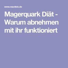 Lean quark diet - why lose weight with it works - Gesund abnehmen - Essen 1 Day Diet, Healthy Tips, Healthy Recipes, Healthy Food, Fitness Tips, Health Fitness, Fitness Workouts, Weight Watchers Tips, Gym Food