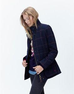 FIELDCOATSemi Fitted Tweed Coat