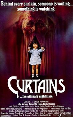 Curtains (1983) this movie scared the crap out of me