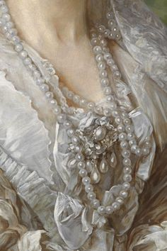 The Lady In Tweed ... theladyintweed: Details of Portraits by Franz Xaver Winterhalter