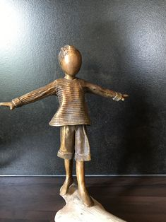 Bronze sculpture / brons made by Babke Moelee Packing, Sculpture, Sculptures, Bag Packaging, Sculpting, Statue, Carving