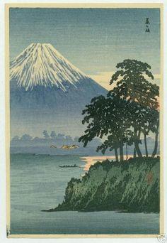 Shotei Takahashi: S-13- Fuji from Fujisaki - Japanese Art Open Database