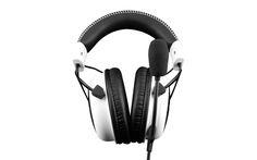 HyperX'in Cloud Oyuncu Kulaklığı Beyaza Büründü Pro Gaming Headset, Kingston, Headphones, Clouds, Games, Headpieces, Ear Phones, Gaming, Plays