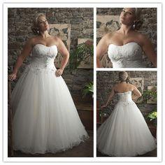 Aliexpress.com   Buy crystal empire sleeveless organza elegant bridal gown  vestido de novia plus size romantic plus size wedding dress 2015 NT 063  from ... 850357f37385