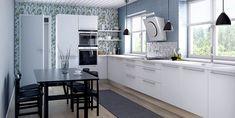 Petra-keittiöt Milka Petra, Kitchen Cabinets, House, Home Decor, Kitchen Cabinetry, Homemade Home Decor, Decoration Home, Kitchen Shelving Units, Dressers