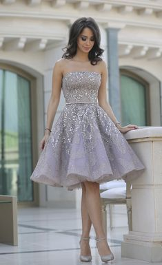 purple strapless homecoming dresses with beaded, fashion semi formal party gowns for special occasion