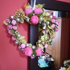 Ornament Wreath, Ornaments, Floral Wreath, Wreaths, Home Decor, Floral Crown, Decoration Home, Door Wreaths, Room Decor