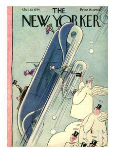 October 13, 1934 Poster - Rea Irvin