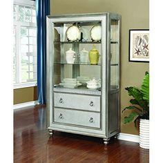 Bowery Hill Curio Cabinet in Mahogany