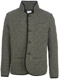 Love the Bark bouclé quilted jacket on Wantering | the quilted jacket | mens quilted jacket | menswear | mens style | mens fashion | wantering http://www.wantering.com/mens-clothing-item/boucl-quilted-jacket/acplF/