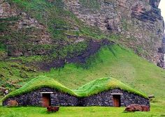 Iceland's Historic Turf Houses