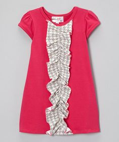 Another great find on #zulily! Fuchsia Kylee Dress - Infant, Toddler & Girls #zulilyfinds