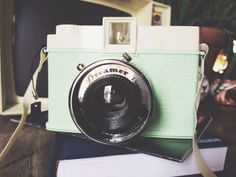 Diana+ lomography camera. Waiting on film and our next trip.