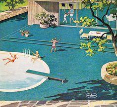 1960s Wall to Wall Carpeting Ad | Flickr - Photo Sharing!