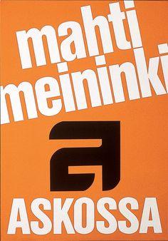 Mahti meininki askossa - Askon vanha mainos North Face Logo, The North Face, Company Logo, Logos, Logo