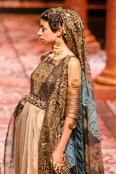Suneet Varma, The Golden Bracelet, India Bridal Fashion Week 2013