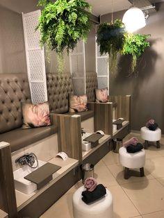 See Nail Techs' Custom Pedicure Setups - Style - NAILS Magazine # Beauty salon See Nail Techs' Custom Pedicure Setups