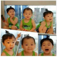 Super cute Daehan Minguk Manseh !  pic from IG: songilkook