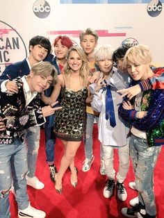 Chelsea BriggsVerified account   @Chelsea_Briggs  t one,  but TWO interviews with @BTS_twt coming for you guys on @billboard! They killed it!! #AMAs