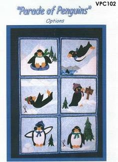 Penguin quilt!
