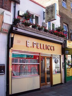 E Pellicci in Bethnal Green, London. One of the city's top spots for a proper British Fry Up.