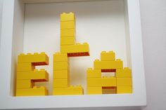 who wouldn't want thier named spelled with Legos?