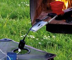 Charge Your Phone With Fire Using The FlameStower Fire-Powered Device Charger