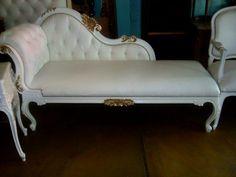 Sala luis xv blanca buscar con google sillones nice - Muebles estilo luis xv ...