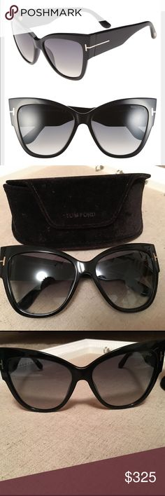 6832453fc1d Selling this Tom Ford  Anoushka  57mm Gradient Sunglasses on Poshmark! My  username is