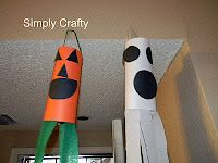 Preschool Crafts for Kids*: Halloween Wind Sock Craft