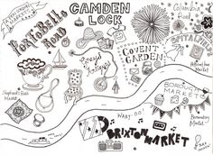 Map of London Markets