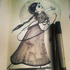 The Art of Bhairavi Kulkarni: Inktober Day01
