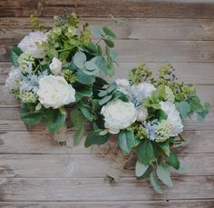 Cream Boho Bouquet with Eucalyptus by blueorchidcreations on Etsy