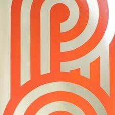 Orange Turnabout Wallpaper