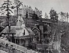 Crescent Hotel and spa....America's most haunted hotel in Eureka Springs, ARkansas