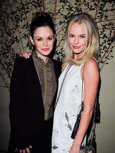 Rachel & Kate...same smile!! Olivia smile?