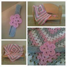 Blanket and Headband by Natoya McClure