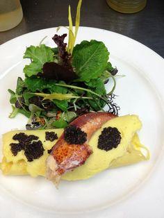 Lobster and truffle omelet - Pangaea Restaurant, Toronto
